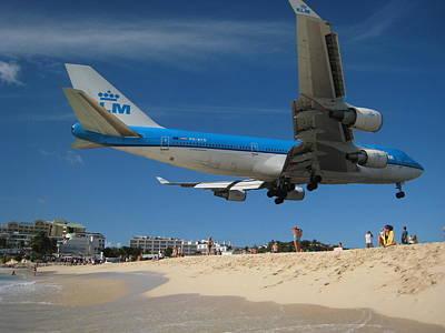 Art Print featuring the photograph Beach Landing by Michael Albright