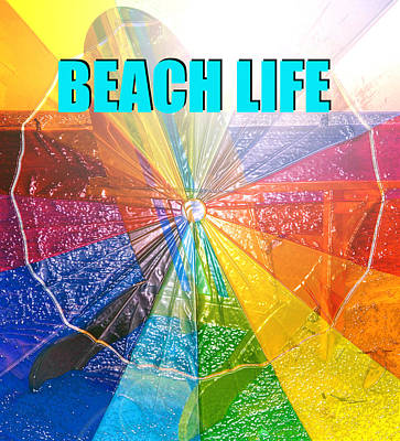 Painting - Beach Life Chair by David Lee Thompson