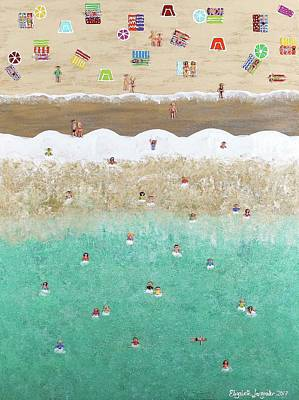 Painting - Beach Life by Elizabeth Langreiter