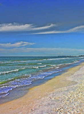 Photograph - Beach Life by HH Photography of Florida