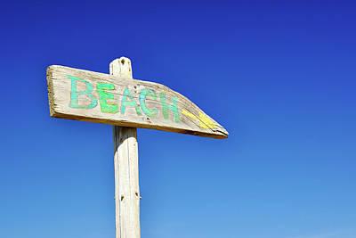 Photograph - Beach Life by Luke Moore