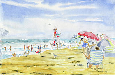 Painting - Beach Life by Melly Terpening