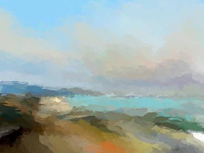 Mixed Media - Beach Light by Anthony Fishburne
