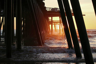 Photograph - Beach Light by Art Block Collections
