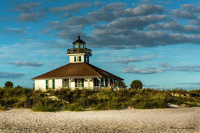 Cupola Photograph - Beach Lighthouse by Marvin Spates