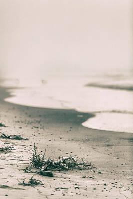 Photograph - Beach Line Orange Beach Al by John McGraw