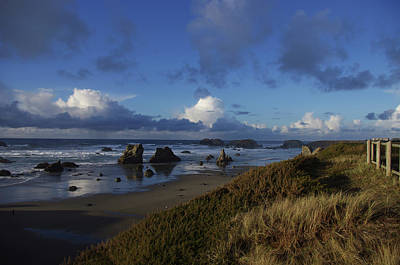 Photograph - Beach Lookout by Adria Trail