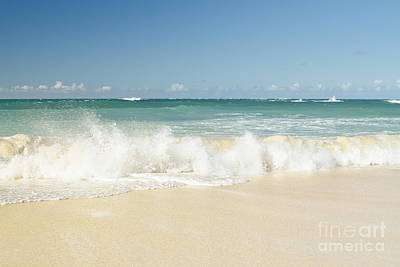 Photograph - Beach Love Shoreline Serenity by Sharon Mau