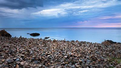 Landscapes Digital Art - Beach by Maye Loeser