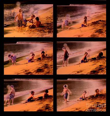 Water Play Photograph - Beach Memories by Madeline Ellis