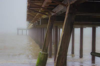 Haze Photograph - Beach Mist by Martin Newman
