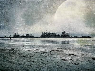 Photograph - Beach Moon by Kathy Bassett