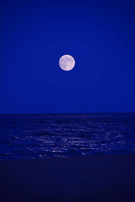 Photograph - Beach Moon by Raymond Salani III