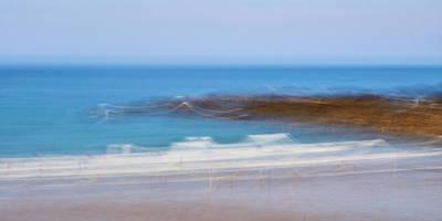 Photograph - Beach Morning, Crackington Haven by Bear R Humphreys