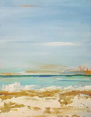 Painting - Beach Morning by Diana Bursztein