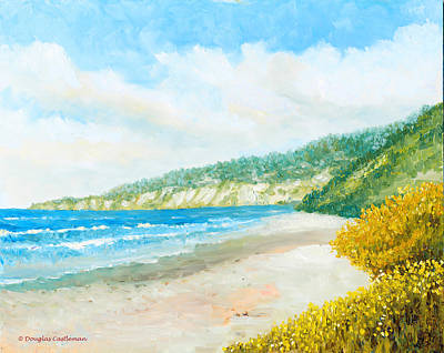 Painting - Beach Morning by Douglas Castleman