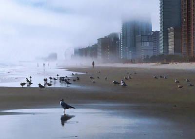 Photograph - Beach Morning by Jim Hill
