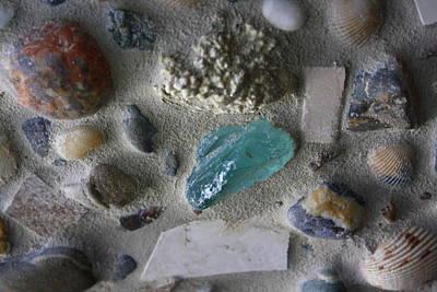 Beach Mosaic Closeup Art Print
