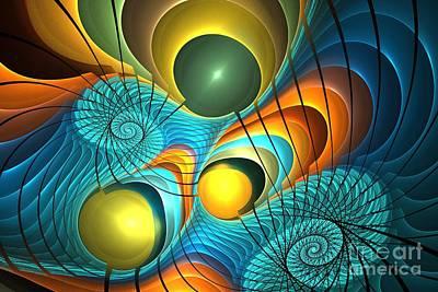 Digital Art - Beach Nautilus by Kim Sy Ok