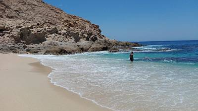 Photograph - Beach Near San Jose Del Cabo by Jesus Nicolas Castanon