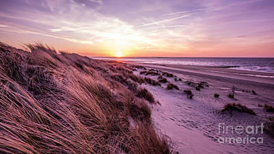 Beach Of Renesse Art Print