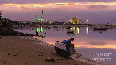 Photograph - Beach Of The Minister Puerto Real Cadiz Spain by Pablo Avanzini