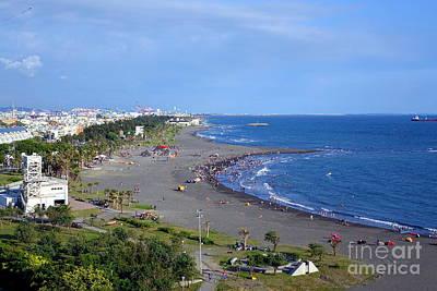 Photograph - Beach On Cijin Island by Yali Shi