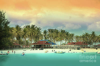 Photograph - Beach On Darawan Island by Charuhas Images