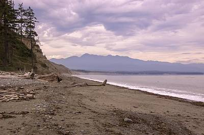 Photograph - Beach On Dungeness Spit by NaturesPix
