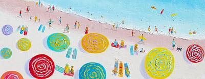 Beach Painting - The Simple Life Art Print