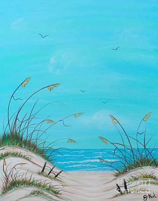 Painting - Beach Paradise by JoNeL Art