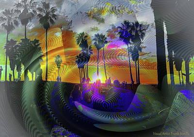 Abstract Trees Mandy Budan - Beach Party by Frank Bonilla