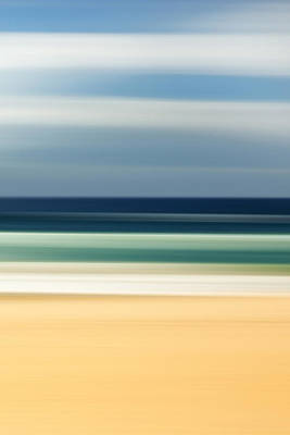 Fluid Photograph - Beach Pastels by Az Jackson