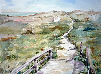 Painting - Beach Path by Dorothy Herron