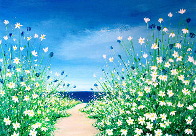 Painting - Beach Path by K McCoy