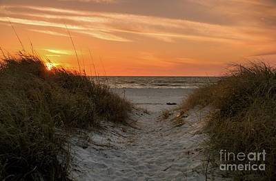Photograph - Beach Path by Karin Pinkham