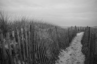 Vacation Photograph - Beach Path by Kathryn Ferreira