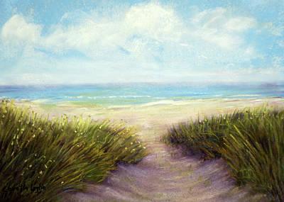 Pastel - Beach Path by Loretta Luglio