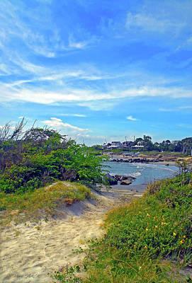 Photograph - Beach Path Wisdom by Marie Hicks