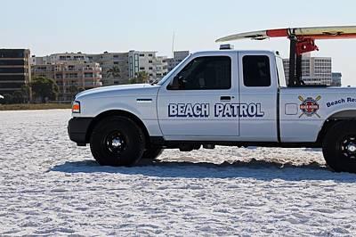 Photograph - Beach Patrol by Michiale Schneider