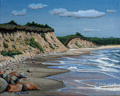 Rocky Beach Painting - Beach by Paul Walsh
