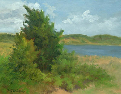 Cape Cod Painting - Beach Pines by Phyllis Tarlow