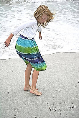 Photograph - Beach Play Time by Jennifer White