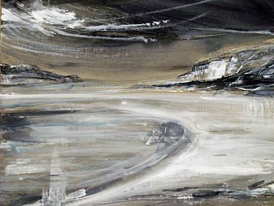 Painting - Beach Pool by Keran Sunaski Gilmore