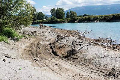 Photograph - Beach Racing Along The Skagit River by Tom Cochran