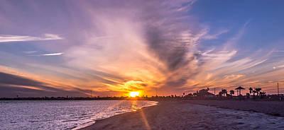 Photograph - Beach Rays by Leticia Latocki