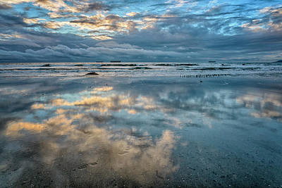 Photograph - Beach Reflections San Diego 7r2_dsc3085_17-01-14 by Greg Kluempers