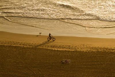 Photograph - Beach Ride by Bonnie Follett