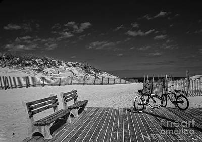 Photograph - Beach Ride by Debra Fedchin