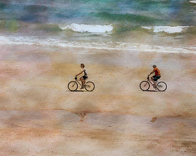 Photograph - Beach Riders by Erwin Spinner